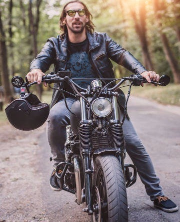 Motorcycle Jackets Denim Vests Motorcycle Helmets L